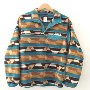 Patagonia Synchilla Southwestern Snap-T Pullover
